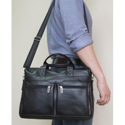 Мужская сумка Lugano black (арт. 1007-20)