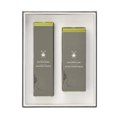 Muehle - Подарочный набор для бритья, крем и бальзам после бритья, Алоэ Вера
