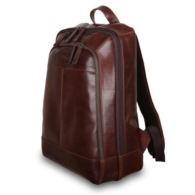 Мужской рюкзак из натуральной кожи Ashwood Leather 8144 Brown