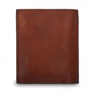 Бумажник Ashwood Leather 1779 Rust