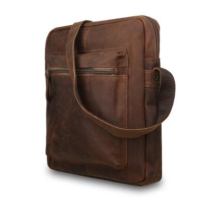 Сумка через плечо из натуральной кожи Ashwood Leather  Paddy Tan