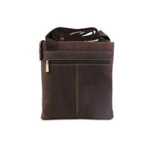Кожаная мужская сумка через плечо Visconti Taylor 16111 Oil Brown