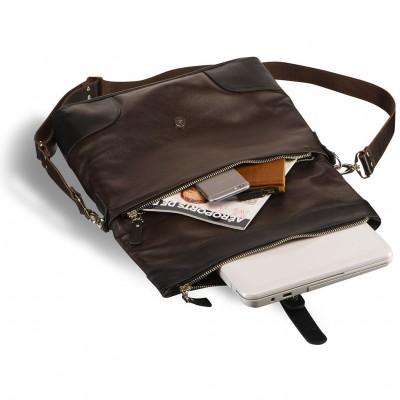 Универсальная мужская сумка BRIALDI Somo (Сомо) brown