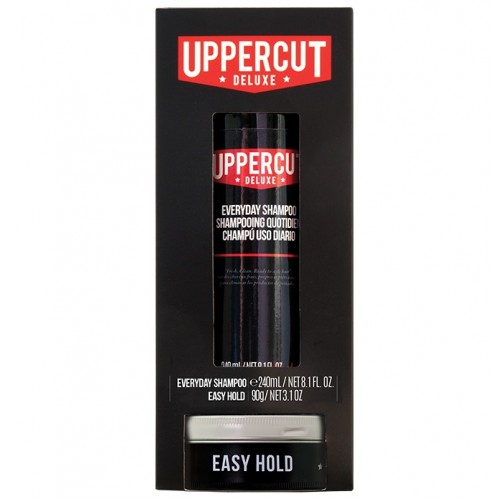 Uppercut Deluxe Everyday Shampoo & Easy Hold Duo Kit - Набор для укладки и ухода за волосами
