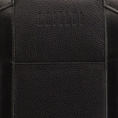 Удобная деловая сумка для документов BRIALDI Atengo (Атенго) black