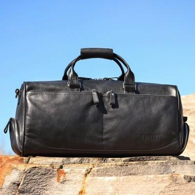 Дорожно-спортивная сумка BRIALDI Traveller (Путешественник) relief black
