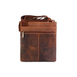 Кожаная мужская сумка через плечо Visconti Taylor 16111 Oil Tan