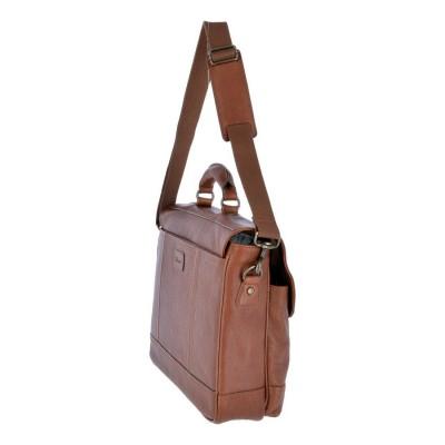 Кожаный портфель мужской Ashwood Leather Henry Honey