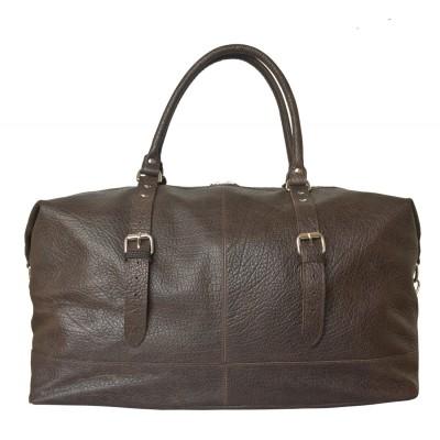 Дорожная сумка из кожи Carlo Gattini Campora brown (арт. 4019-84)
