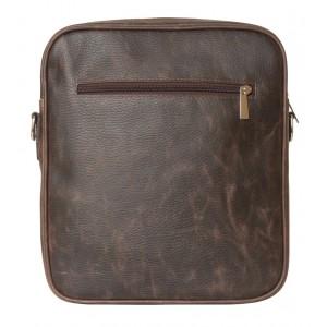 Кожаная мужская сумка через плечо Varano brown (арт. 5013-04)