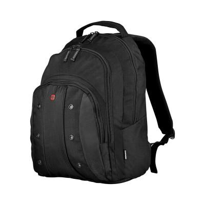 "Рюкзак WENGER 16"", черный, полиэстер (объем 25 л, 35Х25Х46 см)"
