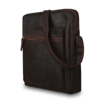 Мужская сумка через плечо Ashwood Leather  Paddy Brown
