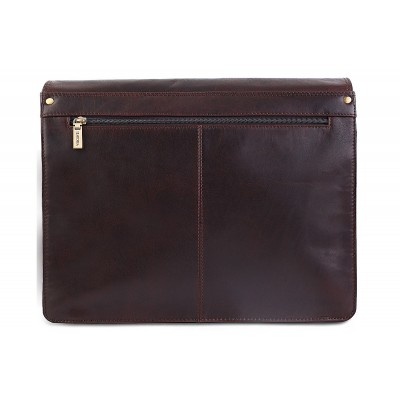 Кожаная сумка через плечо Visconti Carter ML23 Brown
