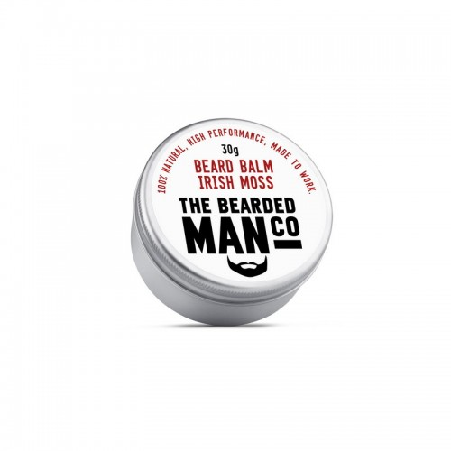 The Bearded Man Company Beard Balm Irish Moss - Бальзам для бороды (Ирландский мох), 30 гр