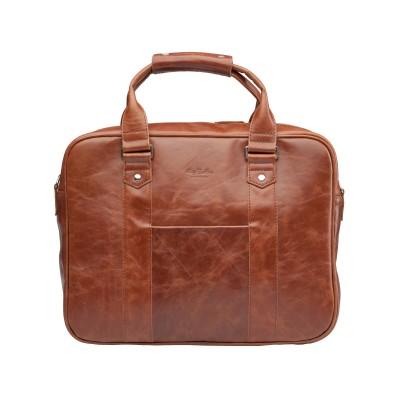 Деловая сумка London Cognac