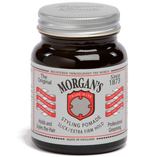 Morgan`s Pomade Extra Firm Hold - Помада для укладки волос экстрасильной фиксации 50 гр