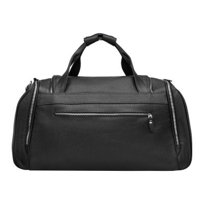 Кожаная спортивная сумка Downfield Black