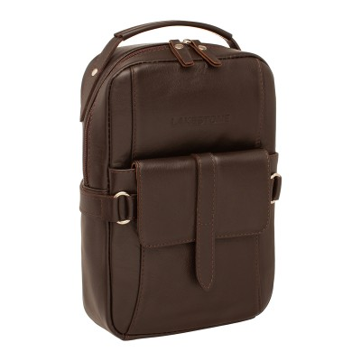 Кожаный рюкзак мужской Pill Brown
