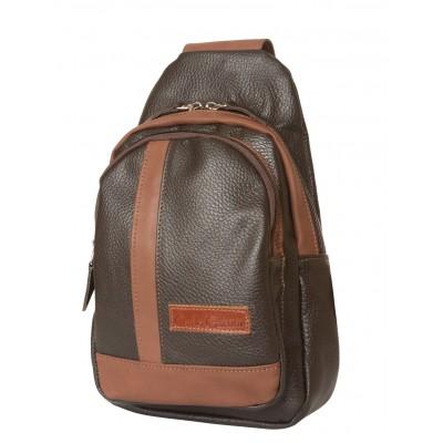 Кожаный рюкзак мужской Fossalta brown (арт. 3029-04)