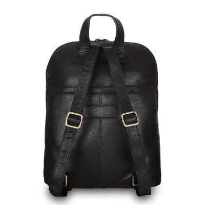 Кожаный рюкзак мужской Ashwood Leather M-65 Black