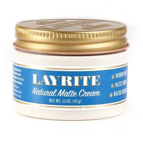 Layrite Natural Matte Cream - Матовый крем для укладки волос средней фиксации 42 гр