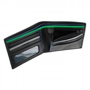 Бумажник Visconti BD-707 Le-chifre Black green