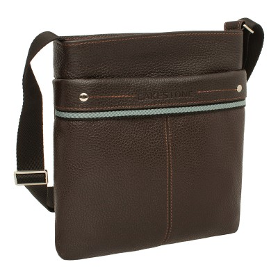 Мужская сумка через плечо Kencot Brown