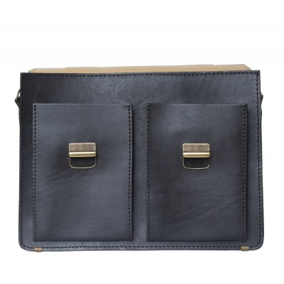 Кожаный портфель мужской Carlo Gattini Montelago black (арт. 2002-30)