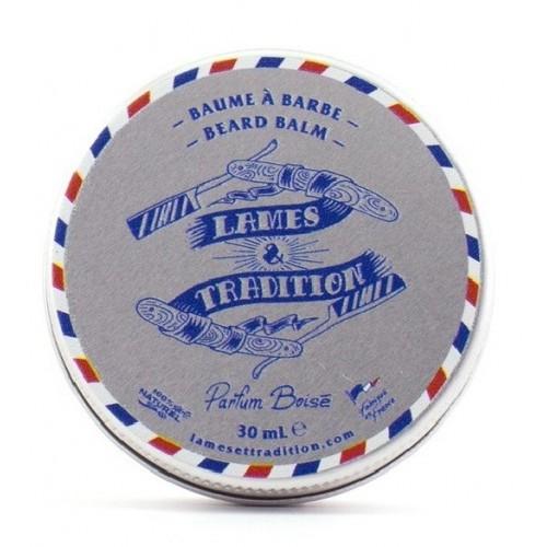 Lames & Tradition Beard Balm - Бальзам для бороды древесный аромат 30 мл