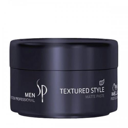 Wella Sp Men Textured Style - Паста для укладки волос с матовым эффектом 75 мл