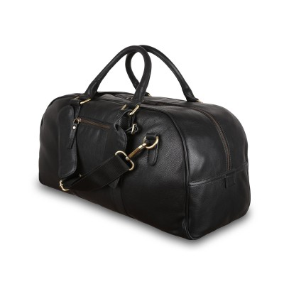 Дорожная сумка Ashwood Leather M-58 Black