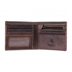 Бумажник  Visconti 707 Shield Oil Brown