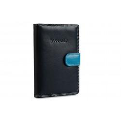 Обложка для паспорта Visconti RB75 Blue Multi