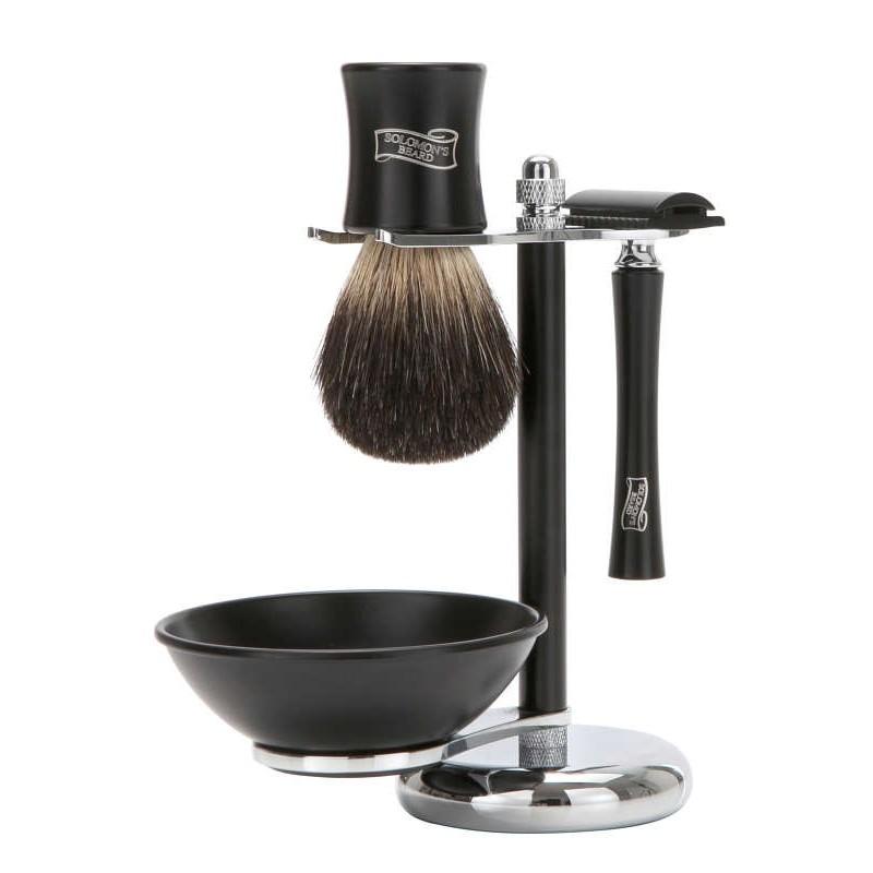 Solomon`s Beard - Бритвенный набор из станка, чаши и помазка