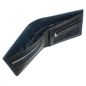 Бумажник Visconti VSL33 TapnGo Steel Blue/Black