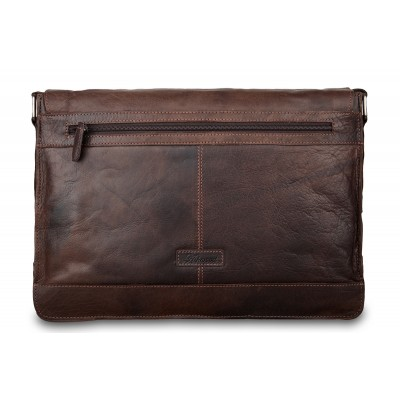 Сумка через плечо Ashwood Leather 8343 Brown