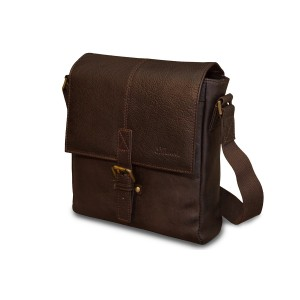 Сумка через плечо Ashwood Leather Murphy Dark Brown