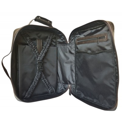 Кожаный рюкзак-трансформер мужской Carlo Gattini Chatillon brown (арт. 3072-04)