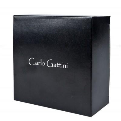 Кожаный мужской ремень Carlo Gattini Ascolano black (арт. 9010-01)