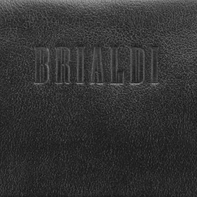 Мужской клатч BRIALDI Bell (Белл) black