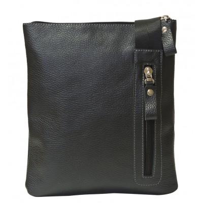 Кожаная мужская сумка Coriano black (арт. 5031-01)