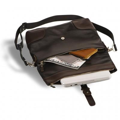 Универсальная мужская сумка BRIALDI Somo (Сомо) black