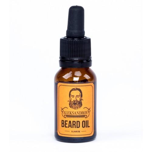 Aleksandrov Beard Oil Sunrise - Масло для бороды Восход 15 мл