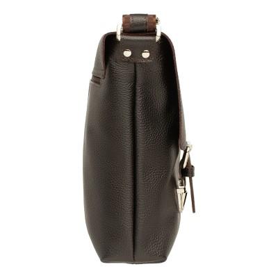 Кожаная мужская сумка через плечо Totshill Brown