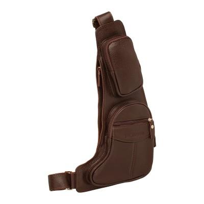 Мужской рюкзак из натуральной кожи Barry Brown