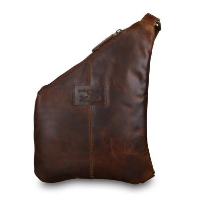 Кожаный рюкзак мужской Ashwood Leather Marc Copper Brown