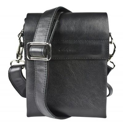 Мужская сумка через плечо Carlo Gattini Feruda black (арт. 5050-01)