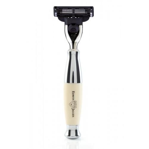 Edwin Jagger R357CR - Станок для бритья, цвет слоновой кости Mach3