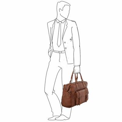Дорожная сумка Ashwood Leather  7997 Weekend Holdall Rust