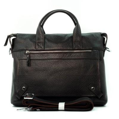 Мужская сумка из кожи Cioccolato Flotter